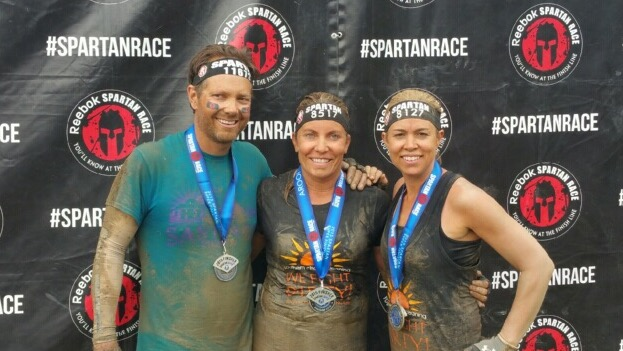 No so clean after the Spartan Race